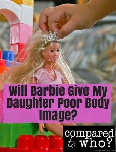 Really great and surprising perspective on the connection between Barbie and body image! Non-judgemental read for Barbie lovers and haters from Compared to Who?