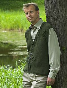 Ravelry: Ymer Man's Vest pattern by Elsebeth Lavold