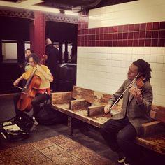 nyc subway music