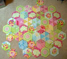 January 2011 photo of my Candied Hexagon progress | Flickr - Photo Sharing!