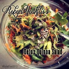 Robyn Youkilis's Detox Quinoa Salad #SaladFest2013