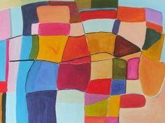 "Saatchi Art Artist Sarah Stokes; Painting, ""walking together"" #art"