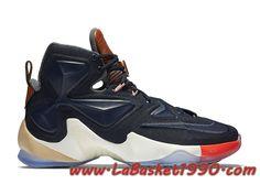 the latest 84631 a89ea Nike LeBron 13 LuxBron 823300-941 Chaussures Nike Basket Pas Cher Pour Homme  Noir