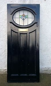 Renovating a 1930's home and want to give it a striking period detail - this oval glass front door makes a real statement - #forsale on #Preloved