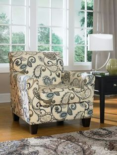 Beautiful paisley; Ashley home furniture