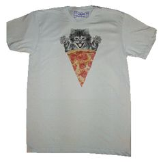 WOWCH, PURRRFECT: hipster irony big spooning meme humor? don't know; don't care: pussy pizza! #tshirt #wowch $20