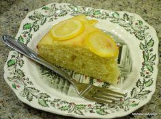 Slice of Lynn Crawford Lemon Cake