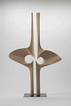 Wood sculpture by Tappio Wirkkala, Pottery Sculpture, Wood Sculpture, Contemporary Sculpture, Contemporary Art, Art Decor, Decoration, Plastic Art, Art Object, Abstract Sculpture