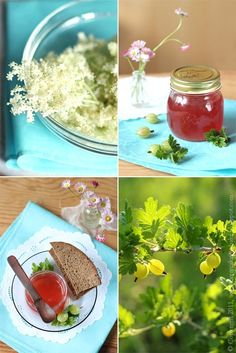 Gooseberry jam Gooseberry Jam, How To Make Cheese, Smoking Meat, Drying Herbs, Preserves, Pickles, Jelly, Canning, Cake