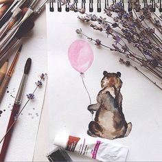 11 Watercolor Instagram Accounts You Should Follow Right Now