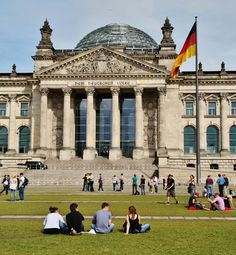 Edificio del Parlamento alemán Reichstag en Berlín