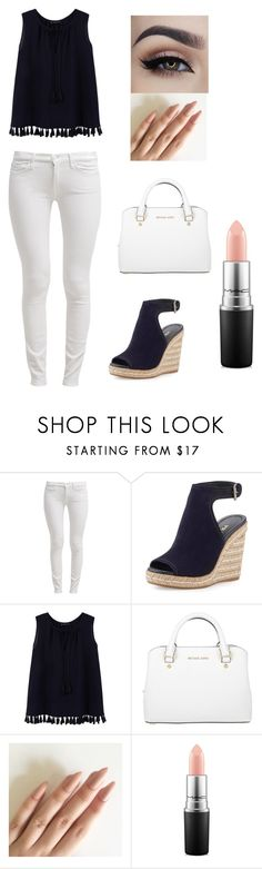 """#50"" by ginger-01 on Polyvore featuring Mode, 7 For All Mankind, Prada, Violeta by Mango, Michael Kors und MAC Cosmetics"