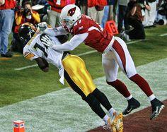 Super Bowl XLIII: Santonio Holmes, Pittsburgh Steelers