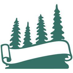 Silhouette Design Store: forest logo