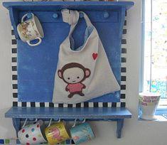 Adorable monkey bag