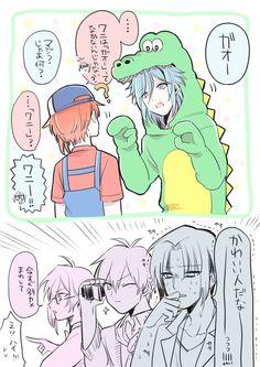 Idolish7 Tamaki and Sogo and Lori and Riku and Tenn