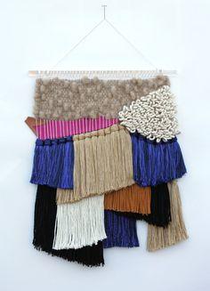 All Roads Colorblock weaving available via Etsy #12makersofchristmas  #allroadsdesign  #allroadsmarket