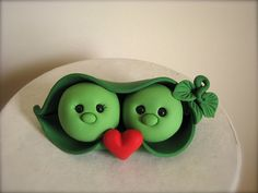 Hey, I found this really awesome Etsy listing at https://www.etsy.com/listing/96478784/two-peas-in-a-pod-wedding-cake-topper