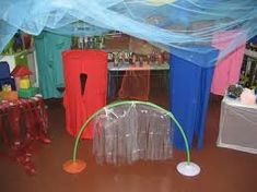 Resultado de imagen para intervenciones artisticas en el jardin de infantes Reggio, Interactive Installation, Ideas Para, Montessori, Activities, Fun, Decor, Environment, Sensory Play