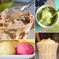 VEG OUT: DAIRY-FREE AND DELISH ICE CREAM RECIPES The Apple pie milkshake is calling my name!!!