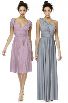 Dessy Twist Wrap Dress **NEW** : Bradgate Brides | Leicester | Leicestershire