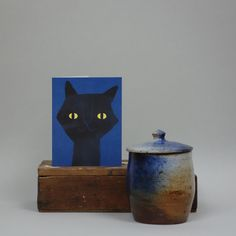 2015 | Cat's Eyes | greetings card | EU/Lisa Jones Studio