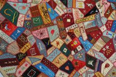 crazy quilts in museums | Museums with Patchwork and Antique Quiltes on display | Quilters ...