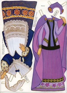 Beauty and the Beast outfits page 1