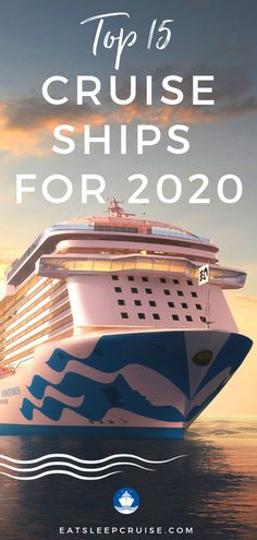 15 Top Cruise Ships to Sail on in 2020 | EatSleepCruise.com. With brand new ships and more ships that have undergone extensive renovations, there are more choices in the cruise industry than ever. If you have been thinking about taking a cruise vacation, now is the time. 2020 features great cruise ships from all major brands sailing to all corners of the globe including the Bahamas, the Caribbean, the Mediterranean, and more. #cruise #cruisevacation #cruiseships #cruisetips #eatsleepcruise