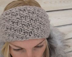 Popular items for knitted headband on Etsy