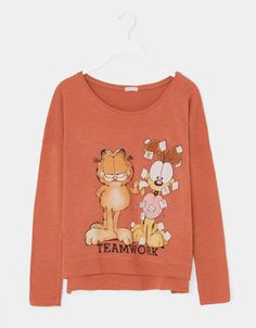 Garfield & Odie top - T-shirts - Oysho & Friends - United Kingdom