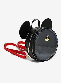 80e69d930 Loungefly Disney Mickey Mouse Pin Collector Mini Backpack - BoxLunch  Exclusive