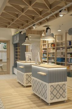 Pharmacy San Palaio in Zarautz by Sube Interiorismo