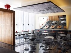 CitizenM London Bankside by Concrete Architectural Associates | HomeDSGN, a daily source for inspiration and fresh ideas on interior design and home decoration.