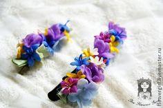 Зажимы !Primavera! - зажим для волос,крокодильчик,заколка для волос,зажим с цветком