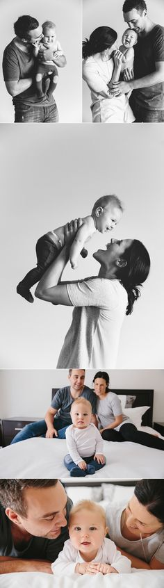 In-home #newborn #portrait session - fun with mom and dad! Photography: Vanessa Norris Photography