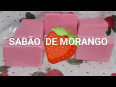 🍓SABÃO DE MORANGO🍓 - YouTube Plastic Cutting Board, Grande, Youtube, Lemon Soap, Homemade Washing Detergent, Soap Recipes, Household Cleaners, Homemade Dish Soap, New Ideas