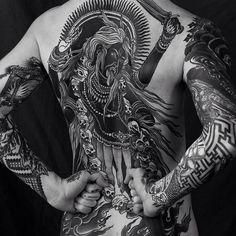 tattoo by Alexander Grim @alexandergrim   photo by Oleg Vereschagin