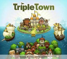 Cool Math Apps - Triple Town 2 .JPG (Imagen JPEG, 343 × 300 píxeles)