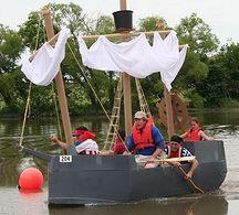 Free Cardboard Boat Plans
