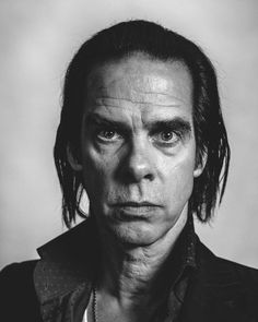 Nick Cave (1957) - Australian musician, songwriter, author, screenwriter, composer and occasional film actor. Photo by Michael Friberg