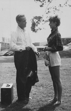 Audrey Hepburn and Humphrey Bogart in Sabrina-1954- De NYPL
