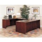Coaster Furniture - Executive Pedestal Desk Group In Cherry Finish - 750U   SPECIAL PRICE: $1,229.00