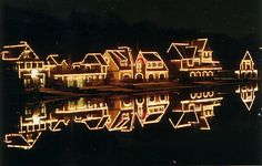 I love Boathouse Row in Philadelphia all lit up at night. I got my friend to drive by it many many times!