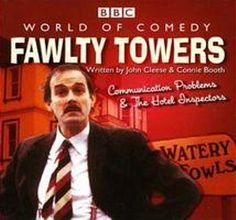 Fawlty Towers // I used to watch this with my grandparents :)) Comedy Series, Comedy Tv, Connie Booth, Fawlty Towers, Joining The Navy, Bbc Tv, British Comedy, Tv Channels, Home Entertainment