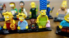 Novidades: Coleção Simpsons Lego Minifigures