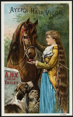 Ayer's Hair Vigor, A. H. V. for the toilet. [front] | Flickr - Photo Sharing!