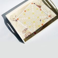 LOVE scrabble Serving Tray Straight Large