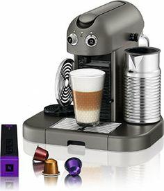 Nespresso C520 Gran Maestria Espresso Maker, Titanium - http://www.teacoffeestore.com/nespresso-c520-gran-maestria-espresso-maker-titanium/