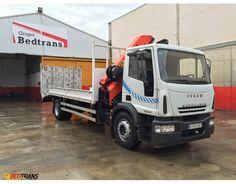 Camion grua IVECO EUROCARGO grua PALFINGER PK16502